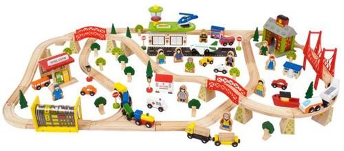 Bigjigs Transport Train Set