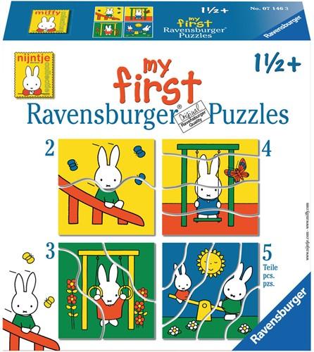 Ravensburger puzzle miffy 2+3+4+5p