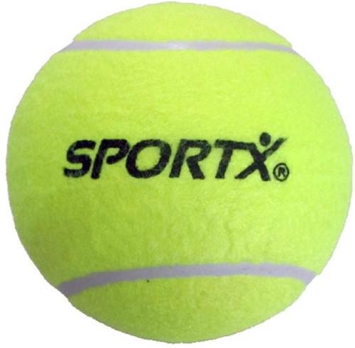 SportX Balle Tennis 13cm.Jaune
