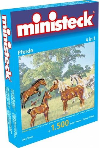 Ministeck - Cheval 4-in-1  500 pcs