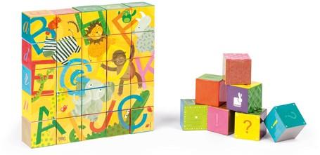 Kubkid – Alphabet – 32 cubes