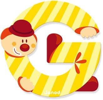 Lettre clown G