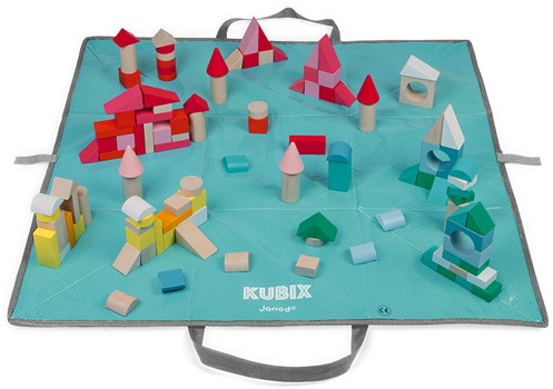 Kubix – 120 cubes en bois