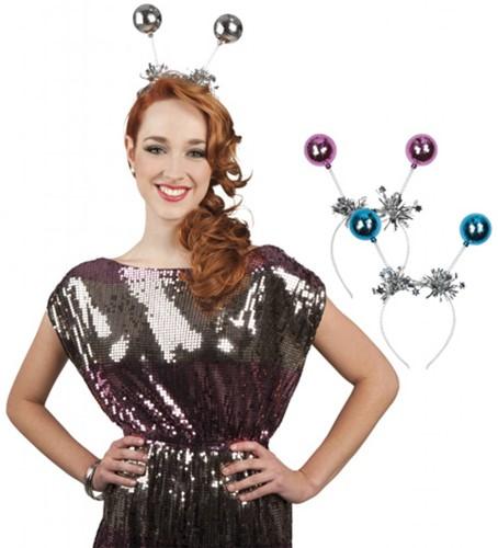 Planet Happy  verkleedspullen Tiara disco ballen