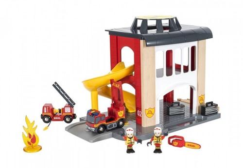 BRIO Caserne de pompiers - 33833