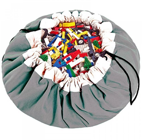 play&go - sac de rangement gris