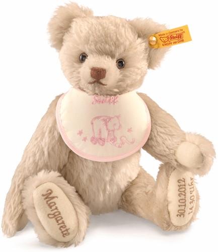 Steiff Teddy bear birth, cream