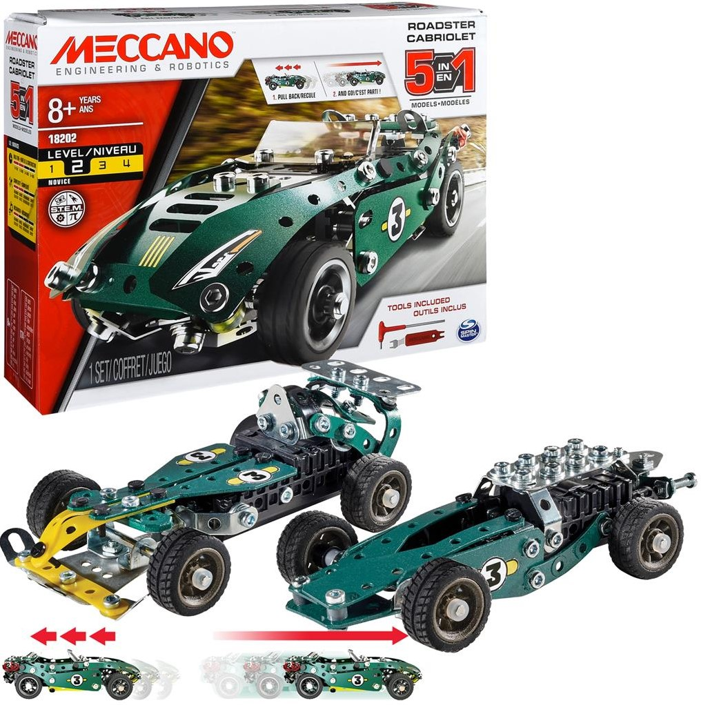 Model Meccano Roadster 5 Set jzGLVqSpMU