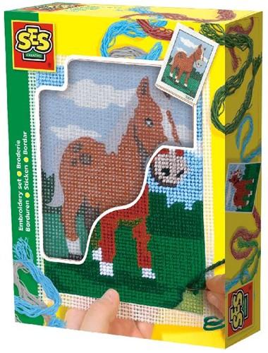 Ses 00867 Borduurset Paard