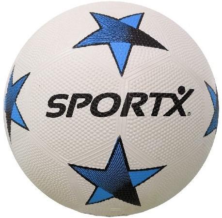 SportX Voetbal Rubber Blue Star 360-380gr