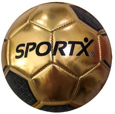 SportX Mini Voetbal Gold Metallic 2ass 160-180gr.