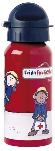 sigikid Frido Firefighter 400 ml Utilisation quotidienne Rouge Aluminium,Polypropylene (PP)