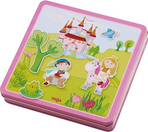 HABA Boîte de jeu magnétique Le jardin féerique