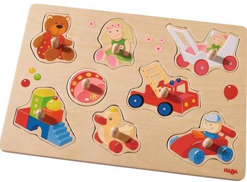 HABA Puzzle Mes premiers jouets