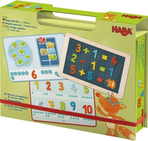 HABA Boîte de jeu magnétique Mes premiers chiffres