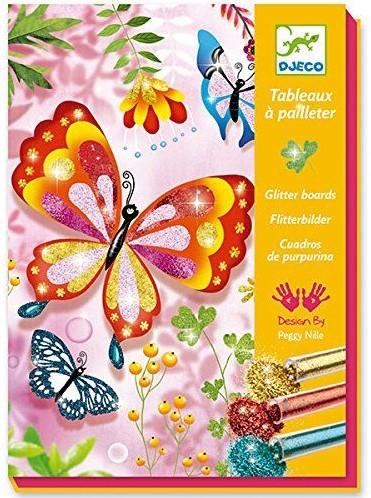 Djeco Papillons à paillettes