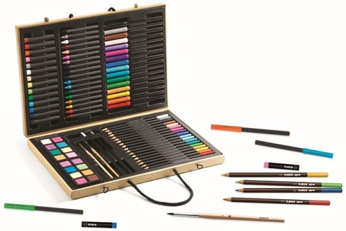 Djeco Grande boite de couleurs