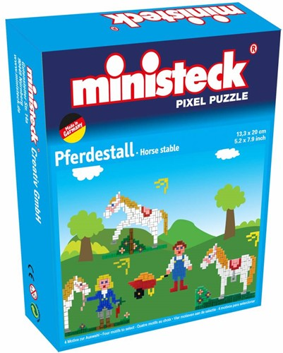 Ministeck - écurie cheval 4-in-1 500 pcs