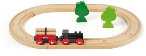 BRIO Petit circuit de train en forêt - 33042