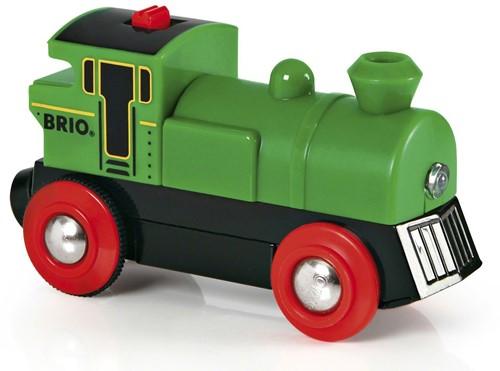 BRIO Locomotive à pile bidirectionnelle verte - 33595