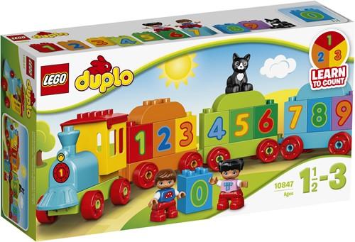 LEGO DUPLO Le train des chiffres - 10847