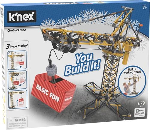 K'nex Building Sets - Control Crane Building Set