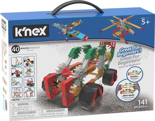 K'nex Building Sets - Beginner 40 Model Building Set