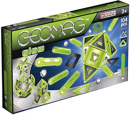 Geomag Color Glow 104 pcs jeu à aimant néodyme 104 pièce(s) Vert
