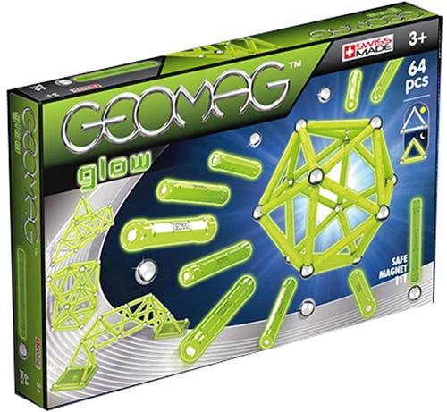 Geomag Color Glow 64 pcs jeu à aimant néodyme 64 pièce(s) Vert