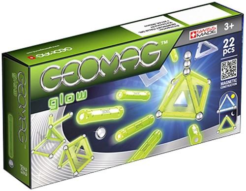 Geomag Panels Glow 22 pcs jeu à aimant néodyme 22 pièce(s) Vert