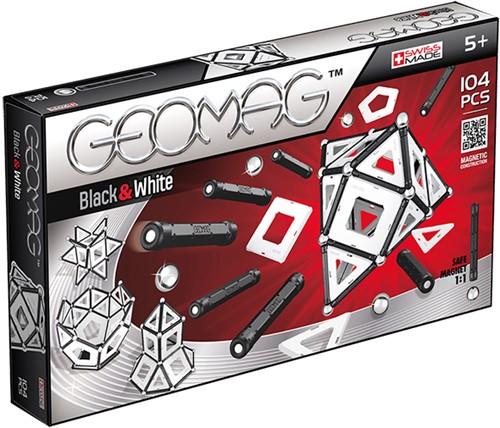 Geomag Panels Black&White 104 pcs jeu à aimant néodyme 104 pièce(s) Multicolore