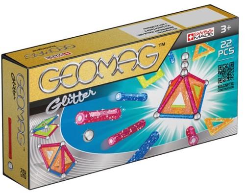 Geomag Panels Glitter 22 pcs jeu à aimant néodyme 22 pièce(s) Multicolore