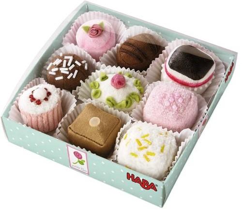 HABA Petite Rose - Petits fours, boîte de 9