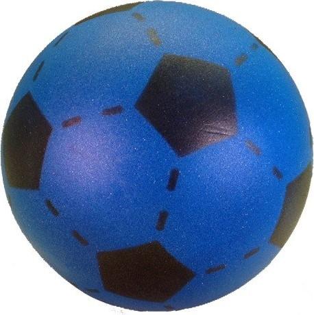 Planet Happy  buitenspeelgoed foam voetbal Blauw 20 cm