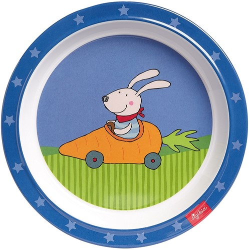 sigikid Melamine bord Racing Rabbit 24614