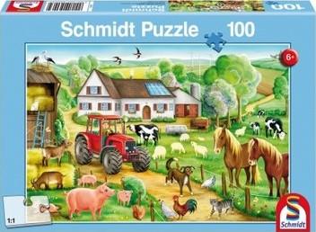 Schmidt Spiele 56003 puzzle Jeu de puzzle 100 pièce(s)