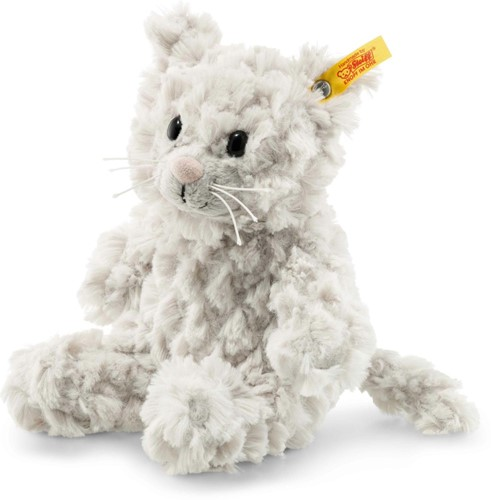 Steiff Soft Cuddly Friends Whiskers cat, light grey