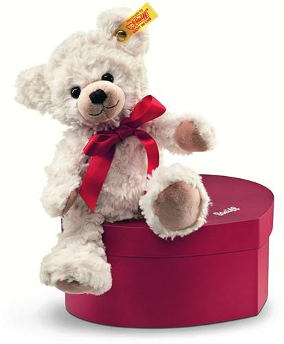 Steiff Ours Teddy Sweetheart dans sa boîte en coeur
