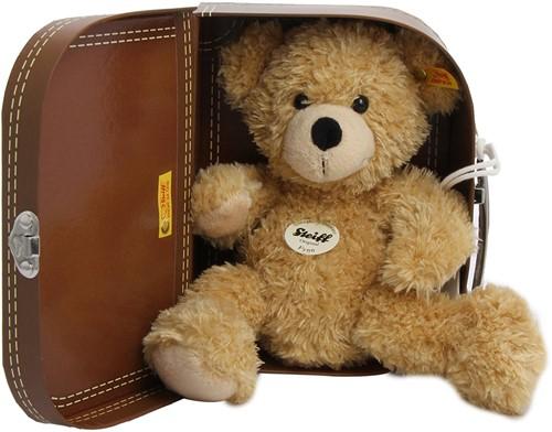 Steiff Ours Teddy Fynn dans sa valise