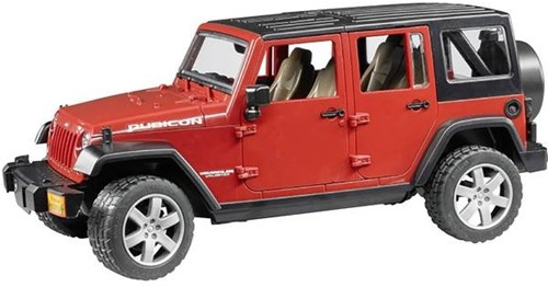 Bruder Jeep Wrangler Unlimited Rubicon - 2525