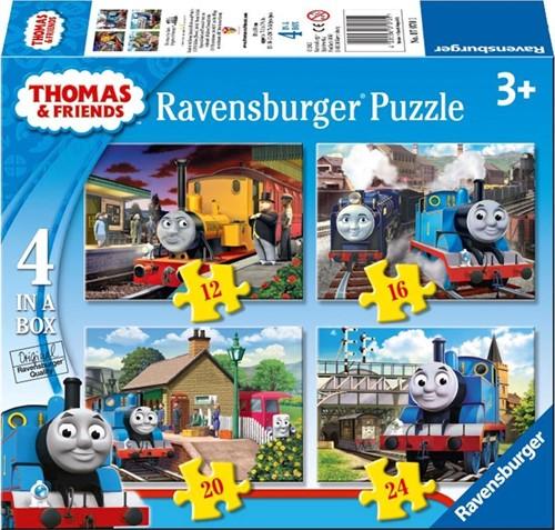 Ravensburger puzzle Thomas & Friends 4puzzels 12+16+20+24p