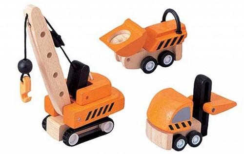 PlanToys Construction Vehicles véhicule pour enfants
