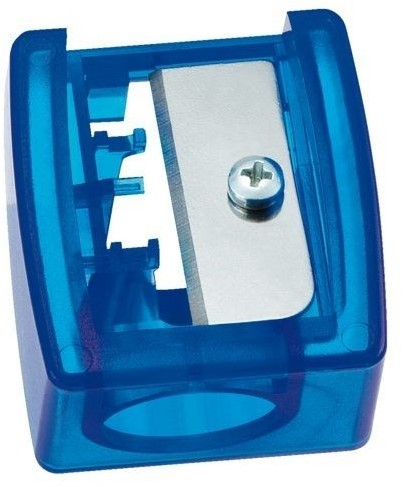 STABILO 4548/12 taille-crayons Taille crayon manuel Bleu, Acier inoxydable, Translucide