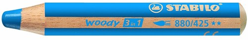 STABILO woody 3 in 1 crayon de couleur 1 pièce(s) Bleu