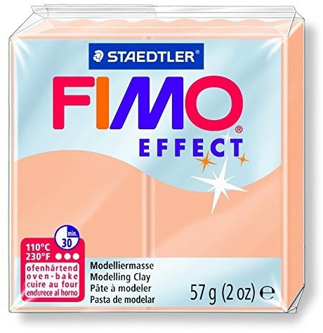 Fimo effect boetseerklei 57g perzik