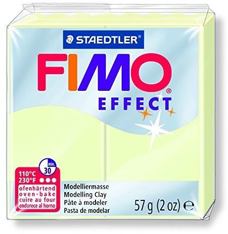 Fimo effect boetseerklei 57g nachtlichtend