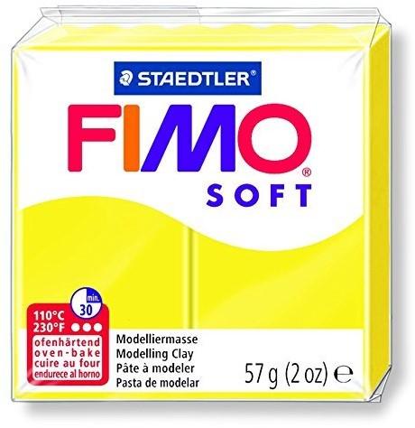 Fimo soft boetseerklei 57g limoengeel