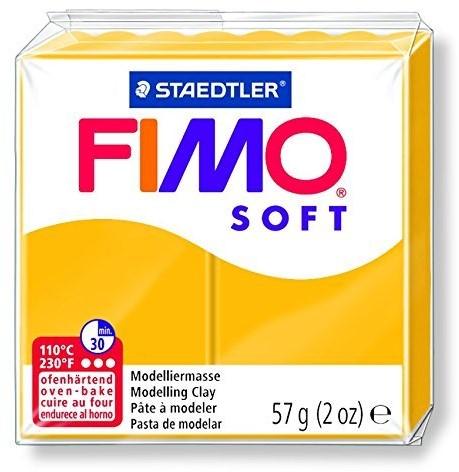 Fimo soft boetseerklei 57g zonnegeel