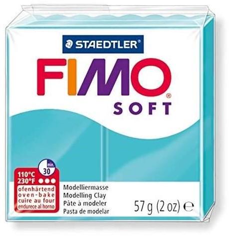 Fimo soft boetseerklei 57g pepermunt