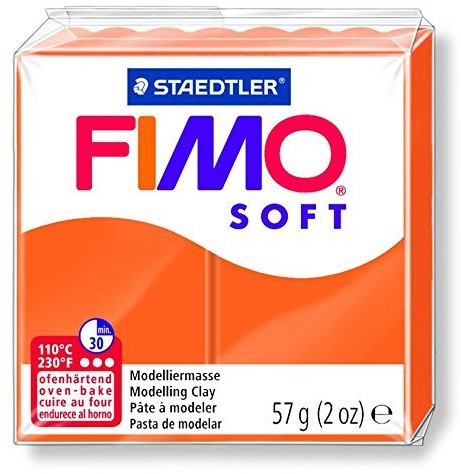 Fimo soft boetseerklei 57g mandarijn